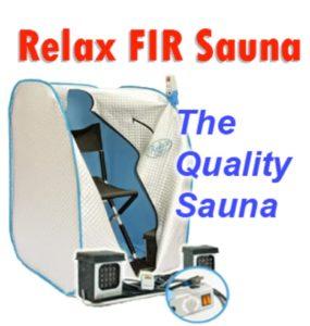 Relaxed Saunas of Momentum Logo